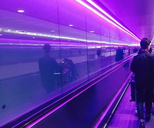 aesthetic, purple, and glow image
