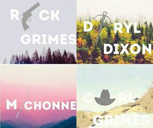 twd, michonne, and carl image