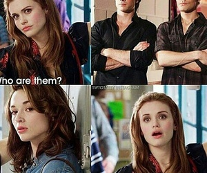 lydia, the vampire diaries, and teen wolf image