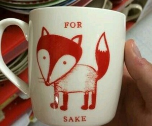 fox, funny, and mug image