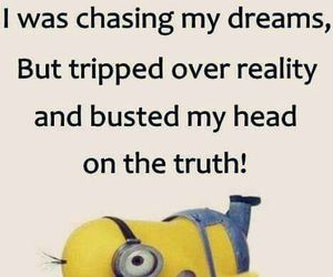 funny, dreams, and minions image