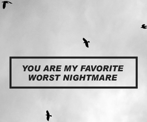 arctic monkeys, nightmare, and sky image
