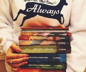 book, harry potter, and always image