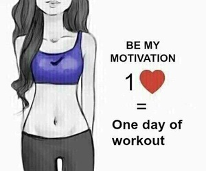 motivation, workout, and fitness image