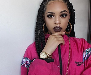 braids, beauty, and makeup image