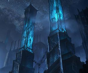 fantasy, art, and blue image