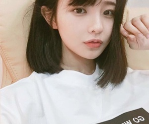 korean, asian, and hair image