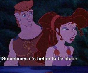alone, hercules, and quote image