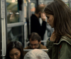 subway, french, and girl image