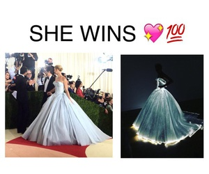 dress, met gala, and claire danes image