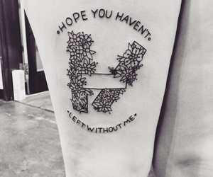 ink, tattoo, and clique image