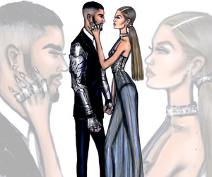 art, gigi hadid, and gigi image
