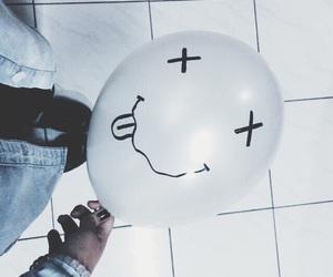 grunge, balloons, and nirvana image