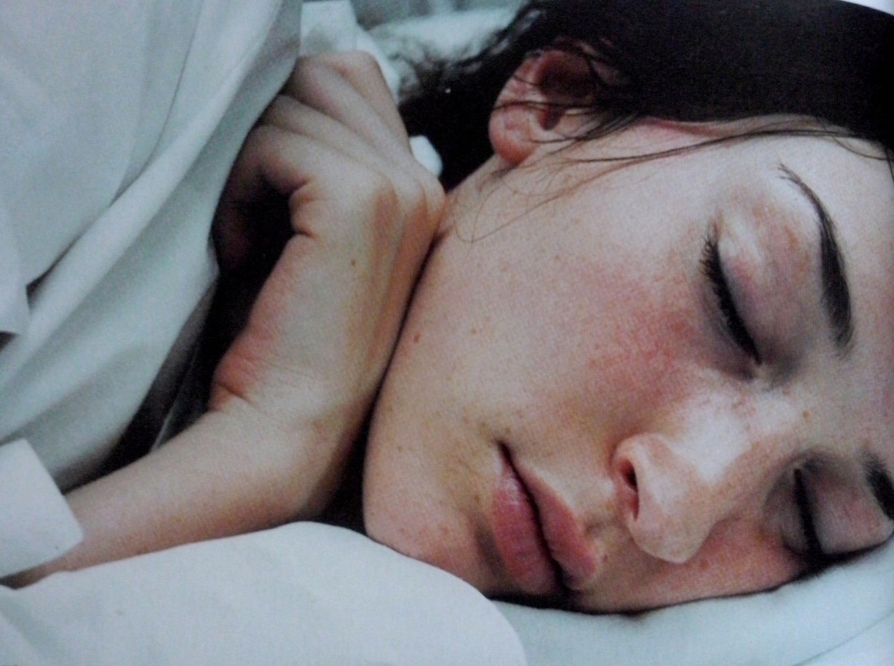girl, sleep, and photography image