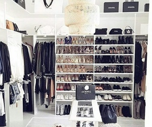 closet, inspiration, and chanel image