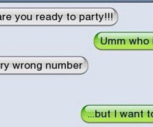 party, funny, and text image