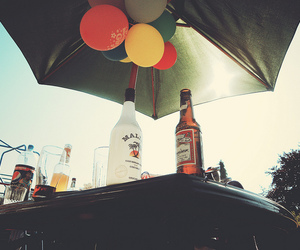 alcohol, drinks, and balloons image