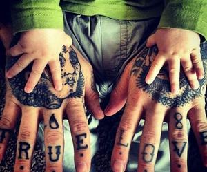 tattoo, baby, and true love image