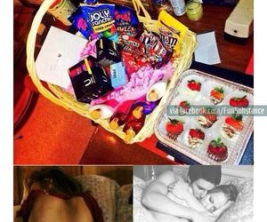 period, food, and chocolate image