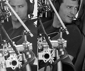 christian grey, fifty shades darker, and charlie tango image