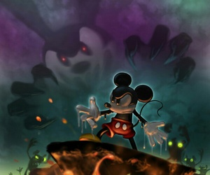 mickey mouse and epic mickey image
