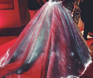 fashion, dress, and met gala image