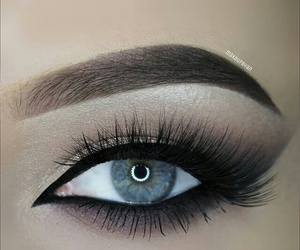 eyes, makeup, and perfect image