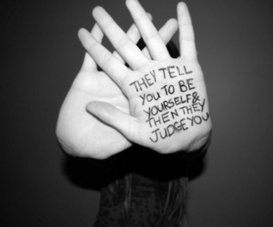 judge, quotes, and be yourself image