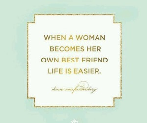 quote, woman, and text image