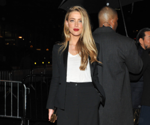 style, amber heard, and blonde image