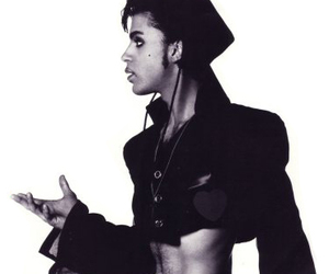 black and white and prince image