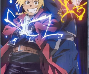 fullmetal alchemist, roy mustang, and edward elric image