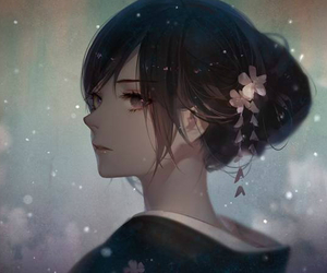610 images about anime girl black hair on we heart it see anime voltagebd Image collections