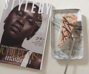cake, chocolate, and marble image