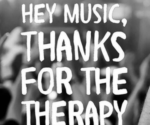 music, therapy, and quotes image