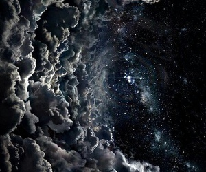 stars, clouds, and sky image