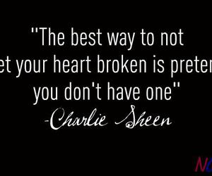 charlie sheen and heart image