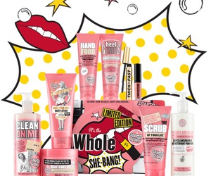 body butter, bath and body works, and soap and glory image