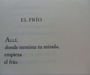 love, frio, and frases image