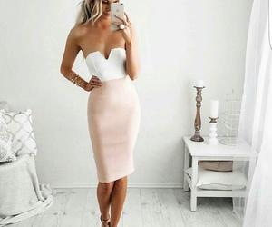 fashion, woman, and gif image