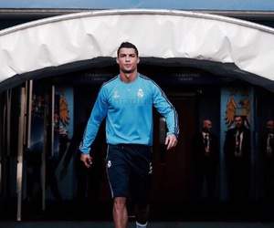 cristiano ronaldo, real madrid, and sport image