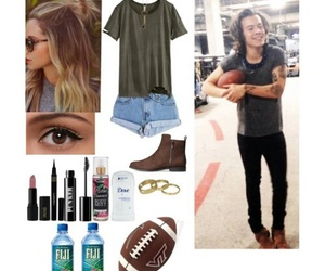 outfit, Harry Styles, and one direction image