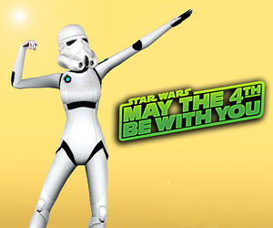 star wars and the sims image
