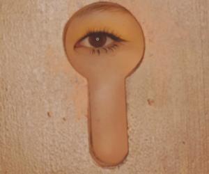 eye, eyes, and girl group image