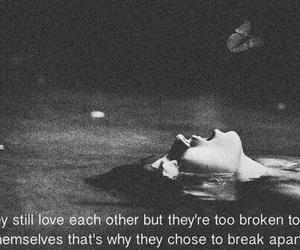 broken, heart broken, and I Love You image