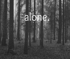 alone and tumblr image