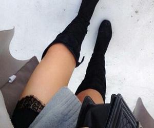 fashion, luxury, and black image