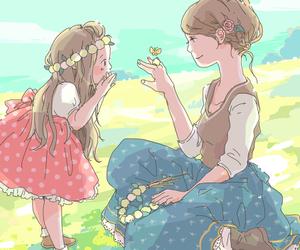 cute, lovely, and manga image