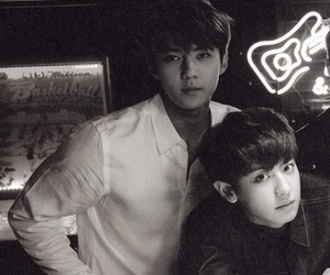exo, sehun, and chanyeol image