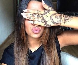 beautiful and henna image